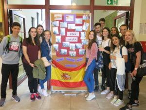 Młodzież hiszpańska i polska w ramach wymiany