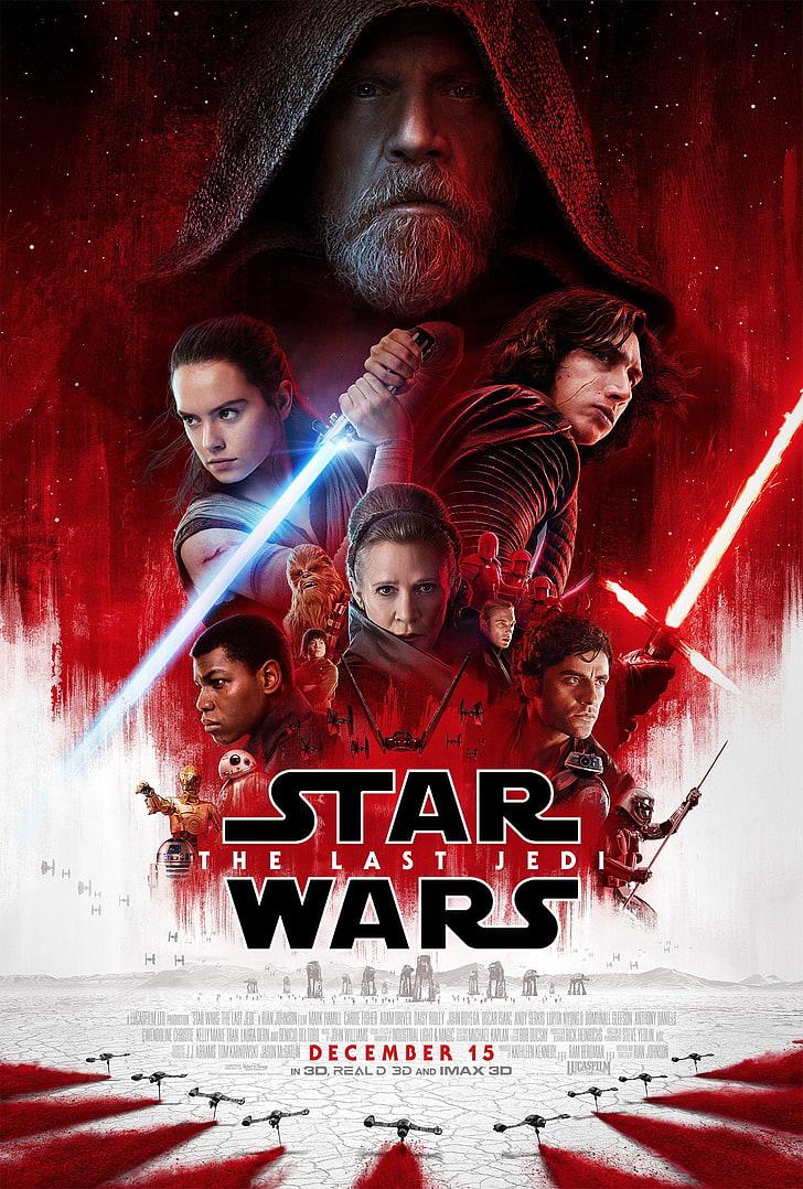 plakat filmu Ostatni Jedi