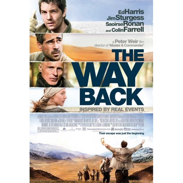 plakat the way back